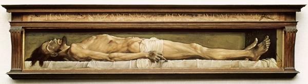 Afbeeldingsresultaat voor christus holbein
